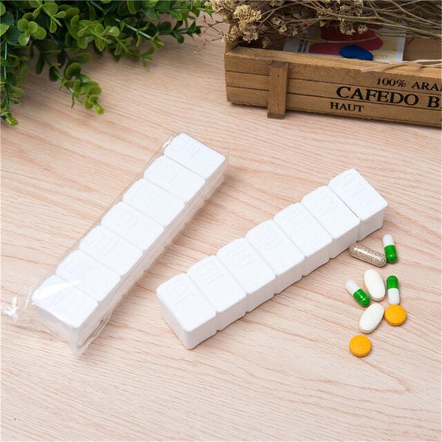 7 Day Tablet Pill Box Holder Weekly Medicine Storage Organizer Container Case AU