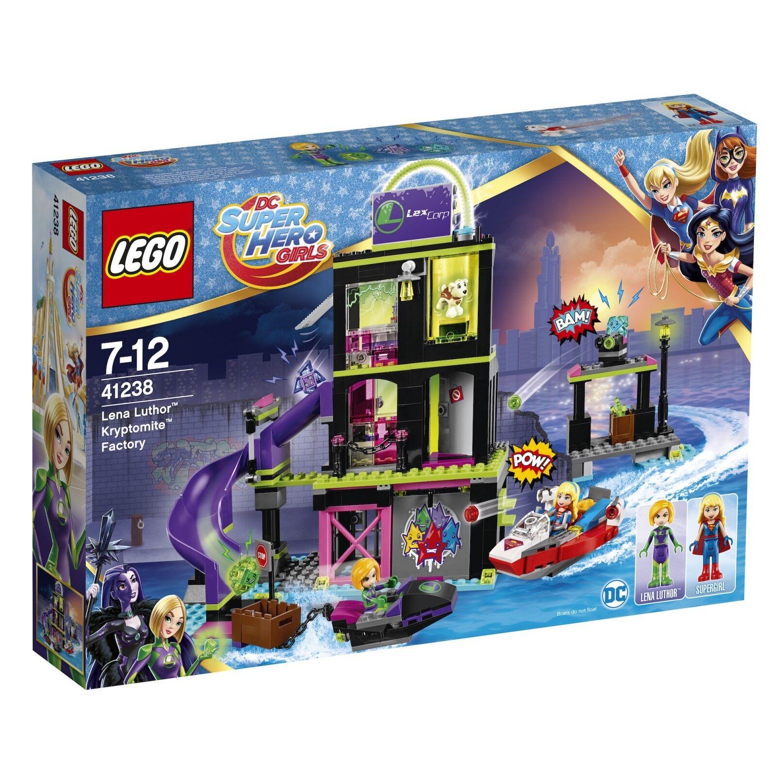 LEGO ® DC Super Hero Girls ™ 41238 la kryptomite ™ - fabbrica di Lena Luthor ™ NUOVO NEW