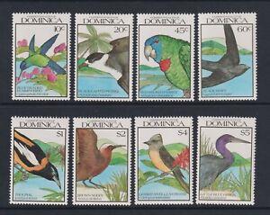 Dominica - 1990, Birds set - MNH - SG 1364/71