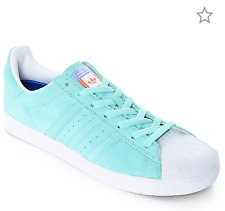 new products 20ce9 24a46 item 5 NIB Adidas Mens Size 10.5  Womens 12 Superstar Vulc ADV Aqua Green  Shoes EUR45 -NIB Adidas Mens Size 10.5  Womens 12 Superstar Vulc ADV Aqua  Green ...
