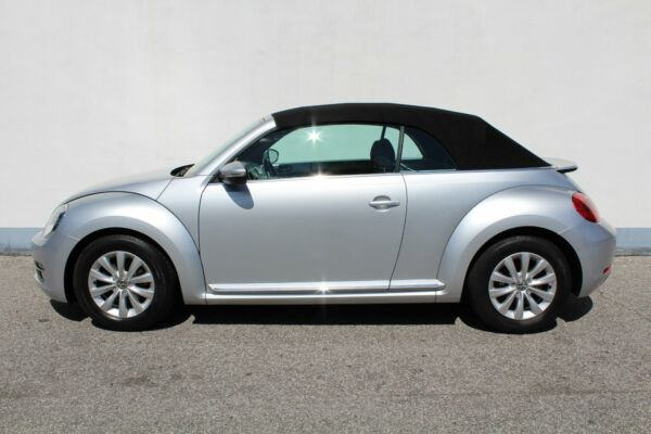 VW The Beetle 1,2 TSi 105 Design Cabriolet - billede 5