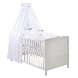 kinderbettset julius z llner bettset kleine eulen weiss. Black Bedroom Furniture Sets. Home Design Ideas