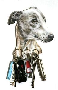 Greyhound-Key-Rack-or-Lead-Hanger-Hand-Made-in-UK-Ideal-Gift