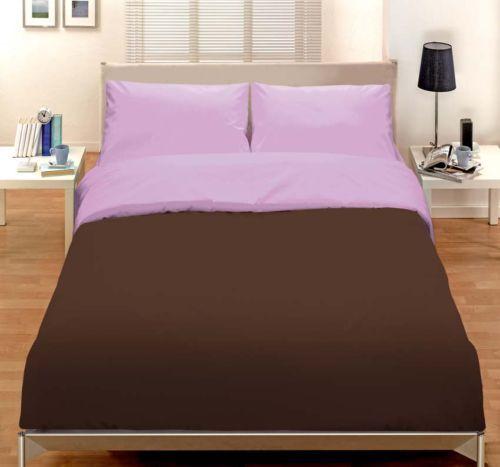 Double Duvet Startseite Lilac braun X