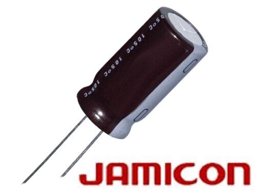 2 pezzi Elko 1000µf rm7.5 63v 16x25 JAMICON nuovo di fabbrica
