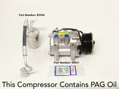 2005 CHEVY EQUINOX 3.4L USA REMANUFACTURED A//C COMPRESSOR KIT WITH ONE YEAR WRTY