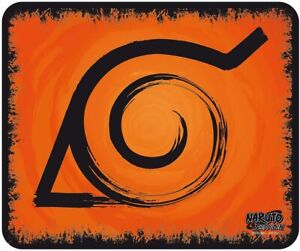 Mouse Pad Naruto Shippuden Konoha Flexible Mousepad 9 1/8x7 7/8in ABYstyle