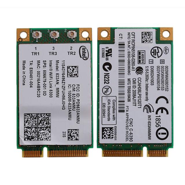 Intel 533AN_MMW WIFI 5300 card for Lenovo ThinkPad X200 X301 T400 W500