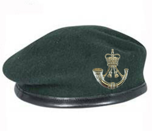 Green Beret and Issue Cap Badge ALL SIZES Official High Quality Dark Rifle