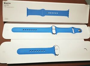 Genuine Original Apple Watch Band 38mm Sport Band - Blue with box