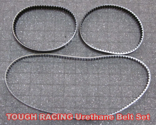 TOUGH RACING Serpent 977 988 Urethane Belt Set 903299 903500 903501 3