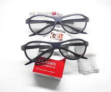 2 Pairs LG Cinema TV Passive 3D Glasses AG-F310 - Brand New In Box Original