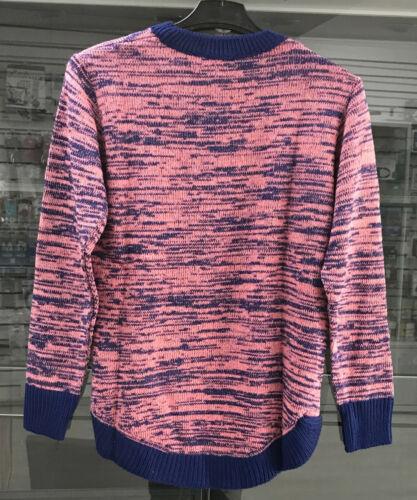 Femmes Bleu Marine Make it Shine Mignon Pull Taille UK 6-8-10-12