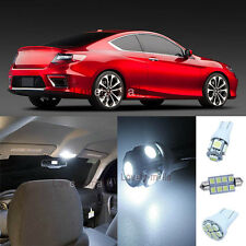 Pure White Lights SMD Interior LED Package Kit For Honda Civic 2013-2015