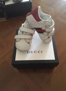 46b4765fa87d31 Caricamento dell'immagine in corso GUCCI-shoes-children-size-17-scarpe -neonato-Bambino-