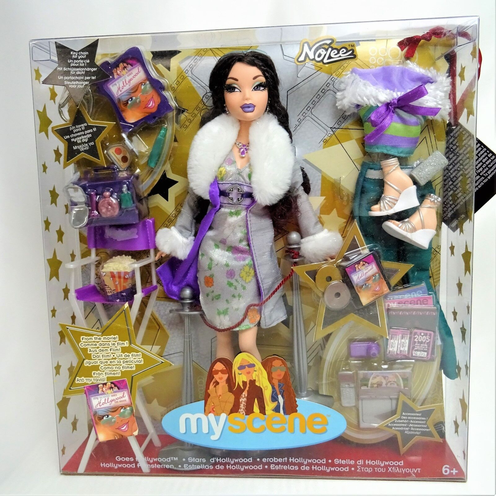 2005 Barbie My Scene Nolee Goes To Hollywood Doll Mint in Box