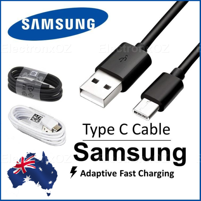 Genuine Samsung S9 S8 Plus Note 9 Type C USB C Sync Charger Charging Fast Cable