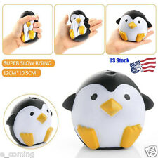 Cute Smile Penguin Squishy Squeeze Soft Slow Rising Restore Kid Fun Toy Gift US