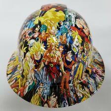 Customized Pyramex Full Brim Dragon Ball Adult Hydro Dipped Hard Hat