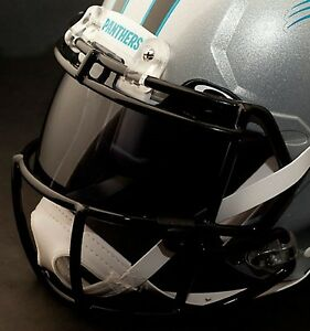 Custom Carolina Panthers Nfl Oakley Football Helmet Eye