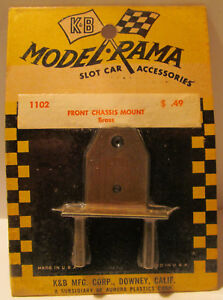 Aurora-K-amp-B-Brass-Front-Chassis-Mount-1102-1960s-MOC