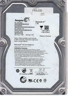 FW HP34 Seagate 750GB SATA 3.5 Bsectr HDD ST3750528AS 9VP TK PN 9SL153-622