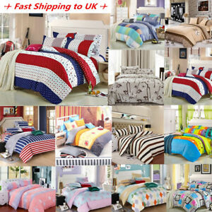 Duvet-Cover-with-Pillow-Case-Quilt-Cover-Bedding-Set-All-Size-Single-Double-King