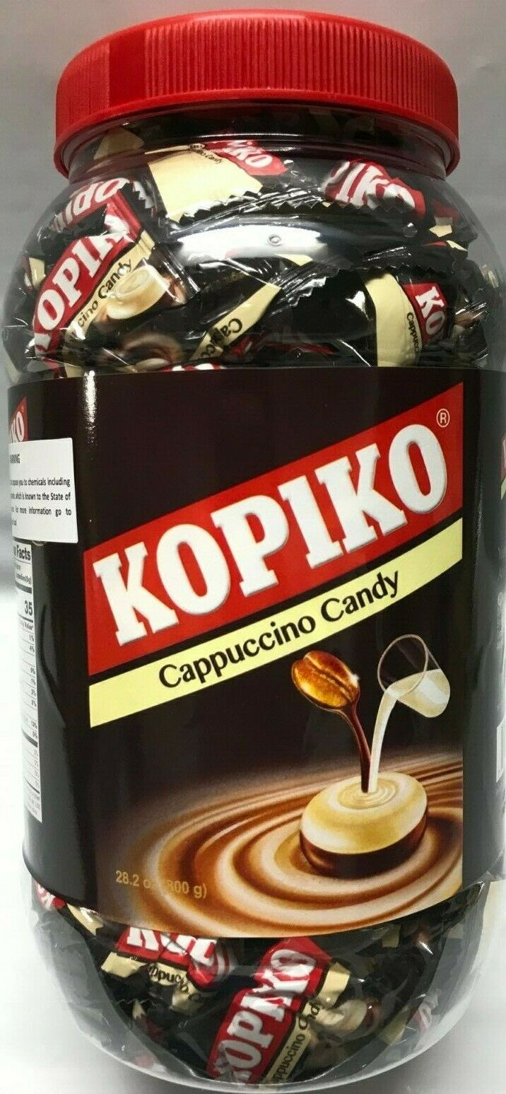 Kopiko Cappuccino Candy Or Coffee Candy Hard Sweet 28 2 Oz Bulk 200 Pcs For Sale Online