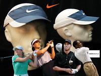 Nike Unisex Adjustable Golf Sun Visor Blue White