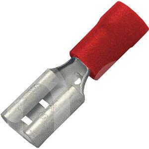 Flachsteckhülsen 7,7 x 0,8 für Kabel >0,5 bis 1,mm² PVC Isolierung ...