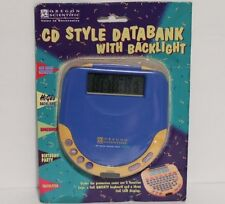 CD Style Databank with Backlight Oregon Scientific NEW