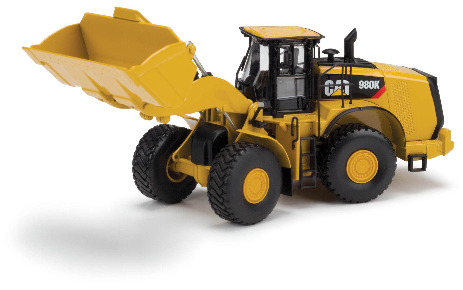 Caterpillar 1 50 scale Cat 980K Material Handling Wheel Loader Norscot 55289
