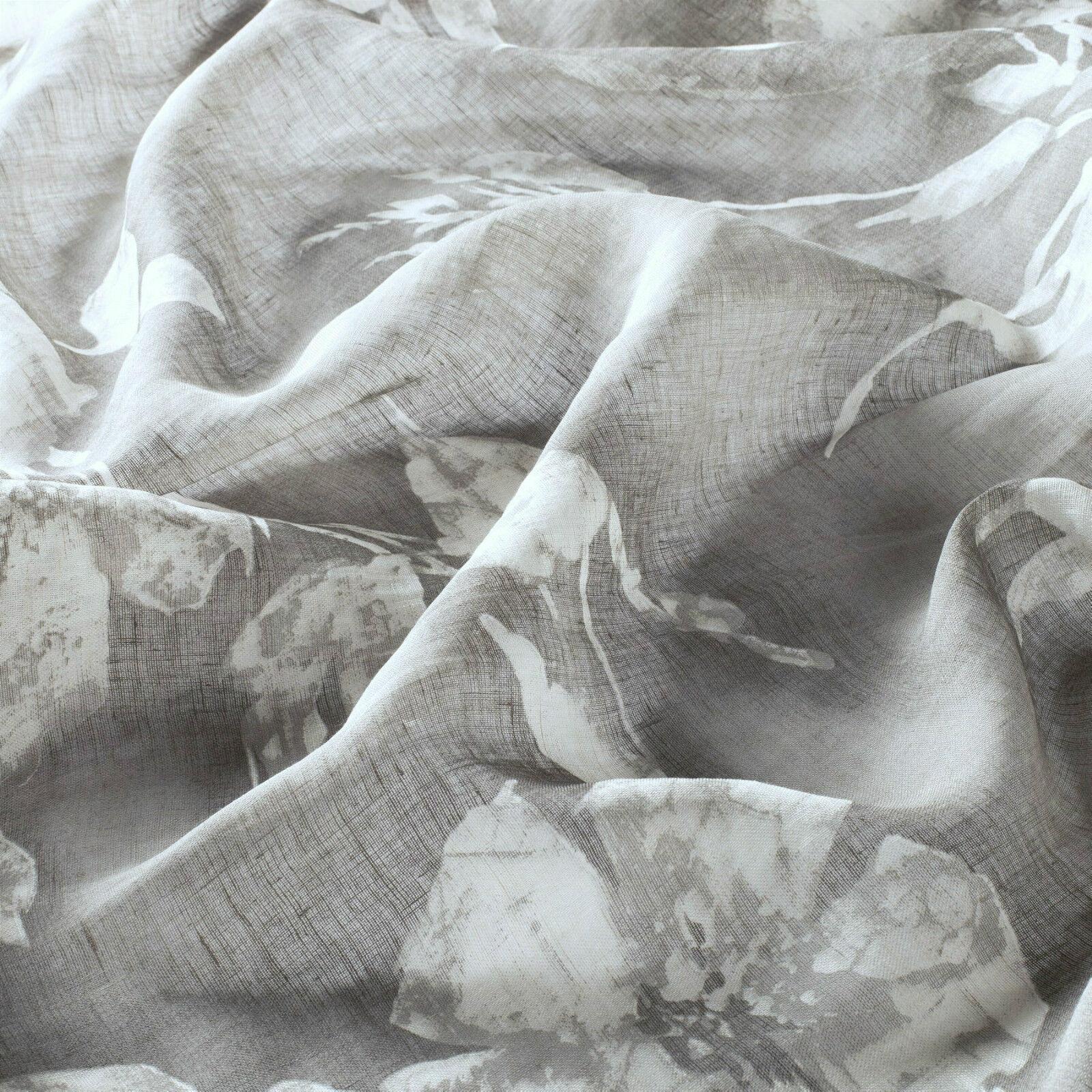 FIORA,Meterware creme Blaumen Leinen Leinen Leinen Stoff fabric tissu Linen 3 Meter hoch JAB | 2019  1391ed