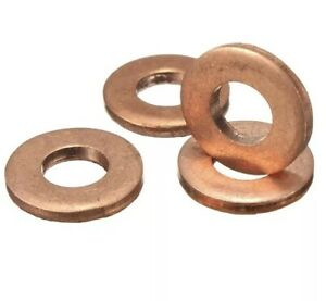 4-x-Injector-Copper-Washer-Seals-O-Ring-for-CITROEN-C3-HDI