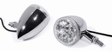 LED Rücklicht Bremslicht Blinker Chrom Motorrad universal Custom für Harley Davi