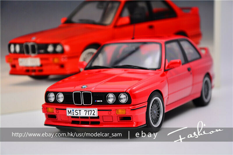 AutoArt 1:18 BMW M3 SPORT EVOLUTION RED