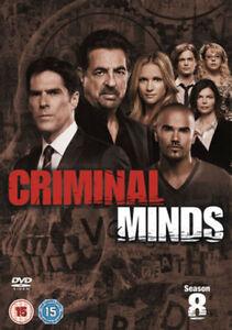 Criminal-Minds-Series-8-Complete-DVD-2013-6-Disc-Set-Box-Set-New-amp-Sealed