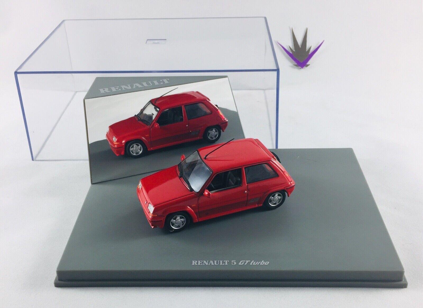 almacén al por mayor Universal Hobbies Renault 5 GT Turbo 1 43    manque totem Renault sur le socle  buen precio