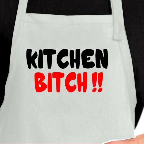 Funny  Aprons Kitchen Bitch Chef Aprons Funny bibs