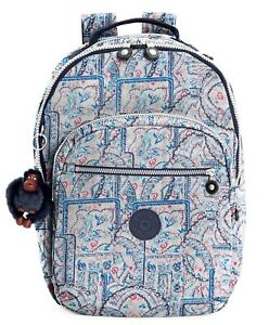 772b8352b2 Image is loading NWT-Kipling-Seoul-Large-Vintage-Laptop-Backpack-Lovely-