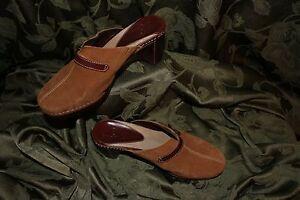 Women nwobBrown Suede Mules 6 Shoesmaat Cole Haan B 5Lc34RAjq