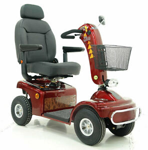 ROAD-KING-MOBILITY-SCOOTER-8-MPH-CLASS-3-SCOOTER-RED