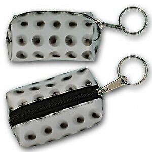 Spinning-Black-Polka-Dot-Lipstick-Coin-Purse-Keychain-Lenticular-R-070-GLOBI
