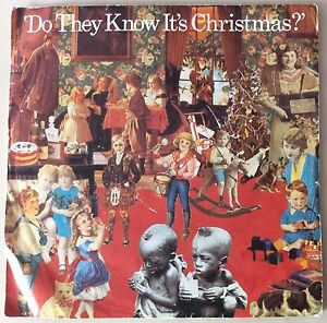 BAND-AID-FEED-THE-WORLD-DO-THEY-KNOW-ITS-CHRISTMAS-VINTAGE-7-034-45-GREAT-CONDITION