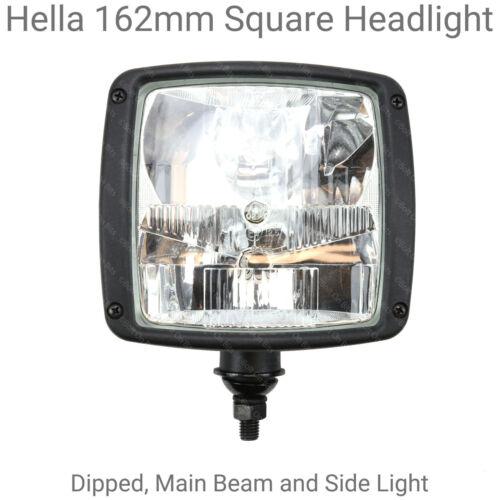 Pair of Hella 162mm Square Headlight//Headlamp for Kit Cars Dakar 4X4 Comp
