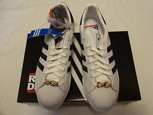 sold worldwide incredible prices discount sale Details about My Adidas SUPERSTAR 80s RUN DMC 25th Anniversary Originals  G48910 Size 10