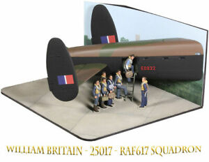 William-Britain-25017-WWII-RAF617-SQUADRON-THE-DAMBUSTERS-NEUF-NEW