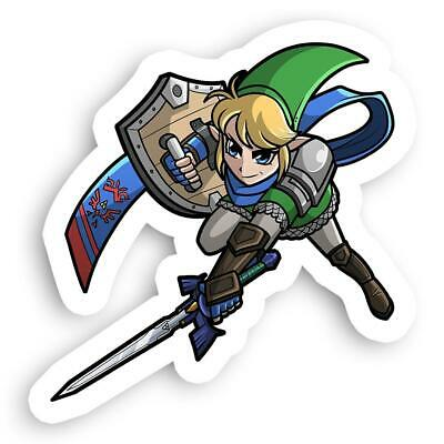 The Legend Of Zelda Hyrule Warriors Link Hero From Nintendo Sticker 2 5 X 2 5 Ebay