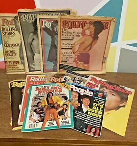 Lot-Of-Collectible-Rolling-Stones-Newspapers-Magazines-1975-99