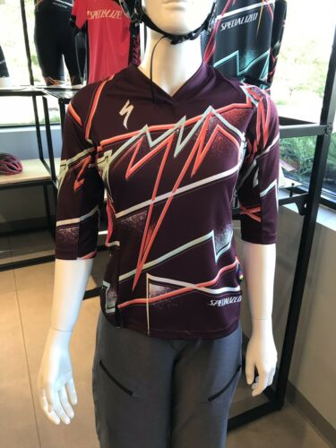 Specialized Andorra Sport 3//4 Jersey SMALL Women's